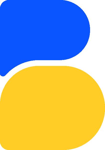 big blue people logo